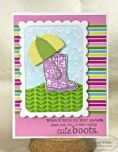 TEEF13 ~ RAINDROPS ~ Embossing folder ~ Taylored Expressions